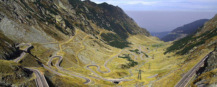 de_0017_romania - Transfagarasan - serpentine road over the mountains