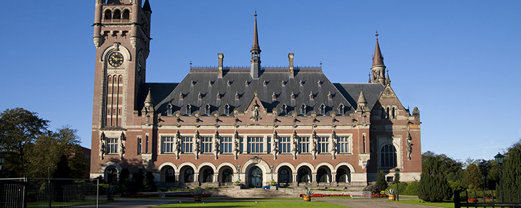 de_0033_netherlands - Peace Palace (UN Court of Justice in The Hague; Netherlands)