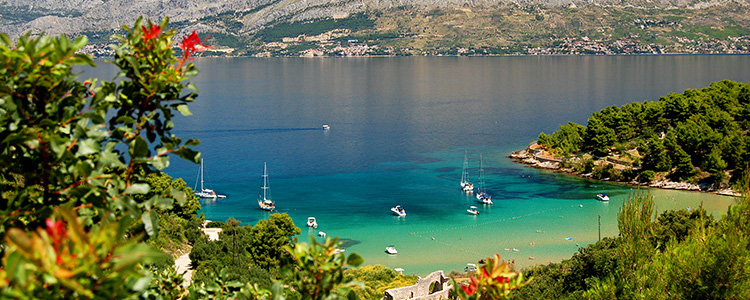 de_0084_croatia - Lovrecina beach on Brac island, Croatia